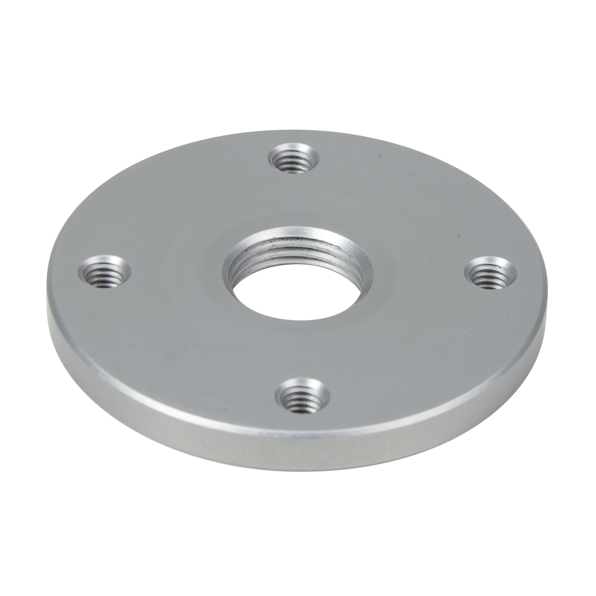 4-Hole Lamination Plate, Round, Threaded Hole, Al