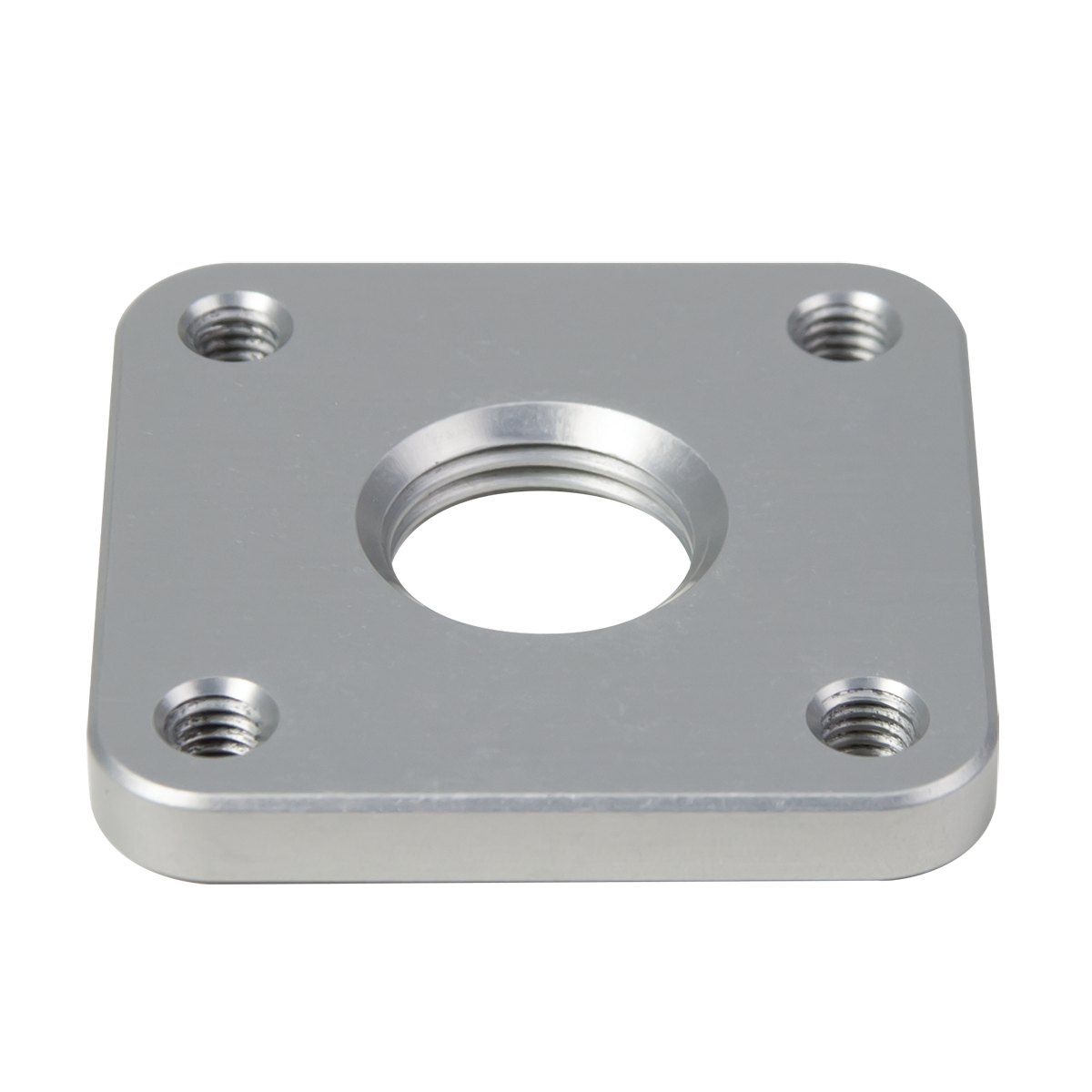 4-Hole Lamination Plate, Square, Threaded Hole, Al