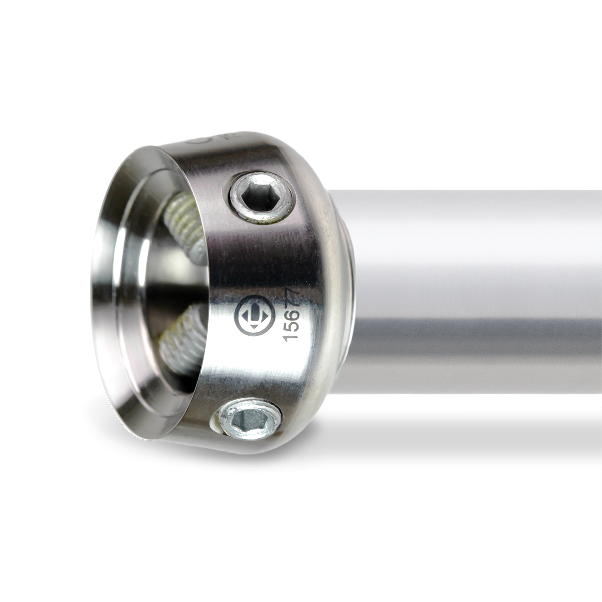 25 mm LP Tube Adapter with Adult Receiver, Titanium, 300 mm