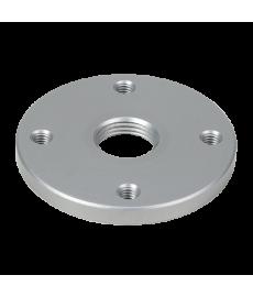4-Hole Lamination Plate, Round, Threaded Hole, Al