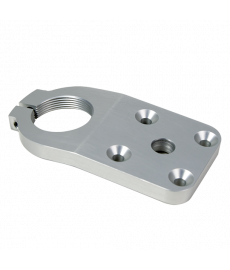 4-Hole Threaded Flexion Plate, 10 degrees, Al