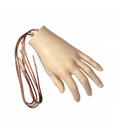 Hand with Extended Wires