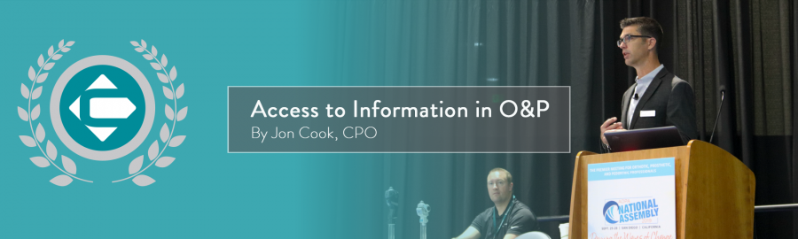 Access to Information in O&P